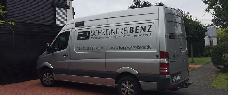 Schreinerei BENZ - Fahrzeug
