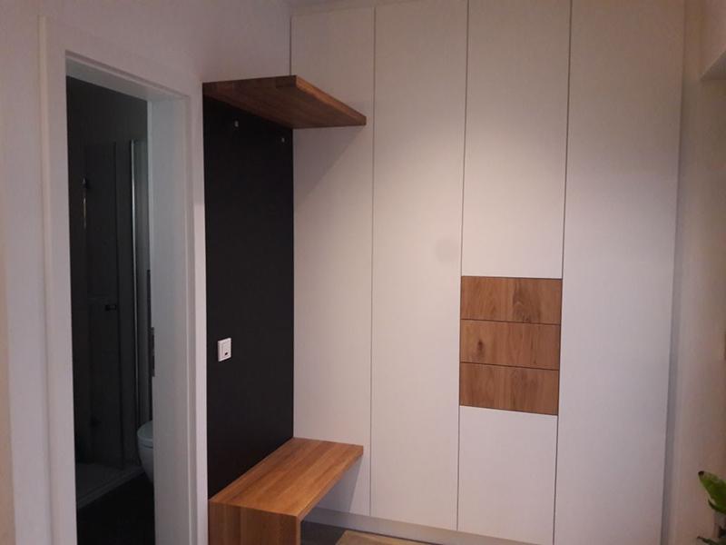 Garderobe aus Holz - Schreinerei Köln-Bonn - Hennef