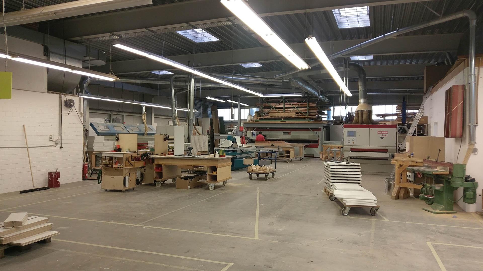 Schreinerei BENZ - Werkstatt in Hennef