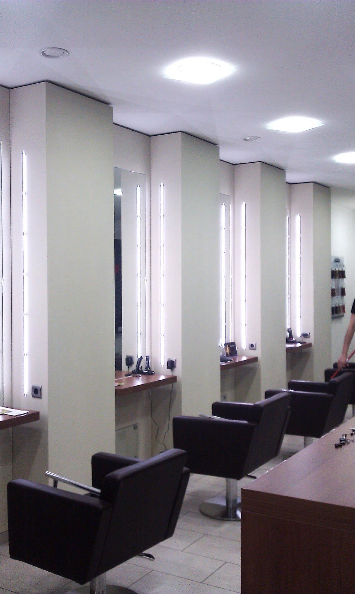 Ladeneinrichtung - Friseurladen